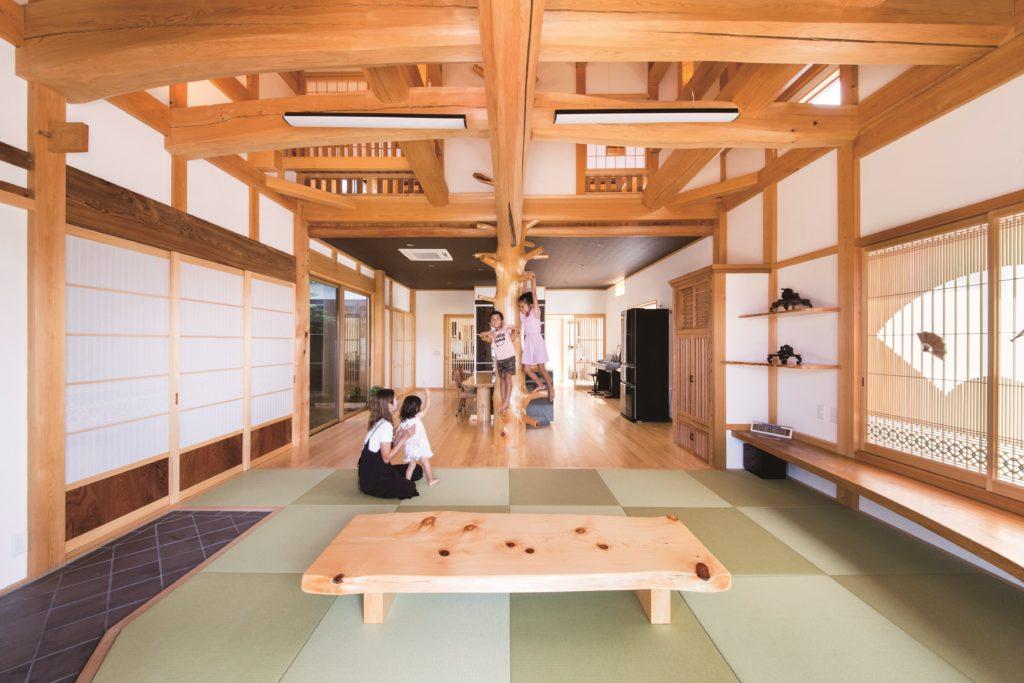 居間 琉球畳