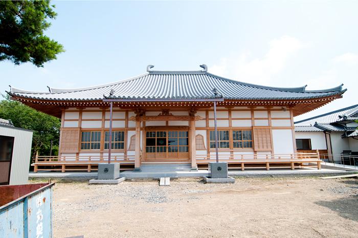 圓明寺本堂