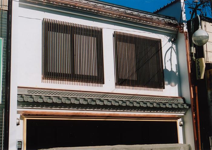 京花の軒瓦