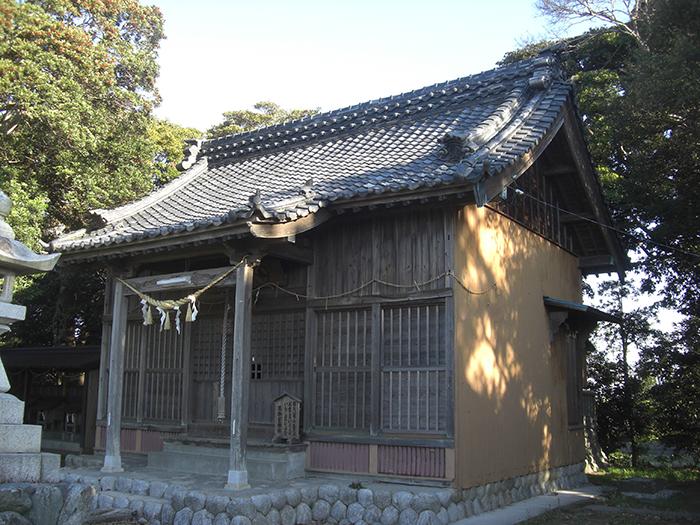 王御前神社(改修前)
