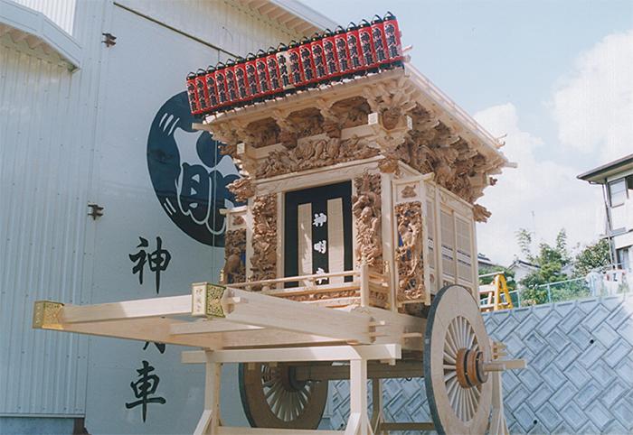神明社「森町式」