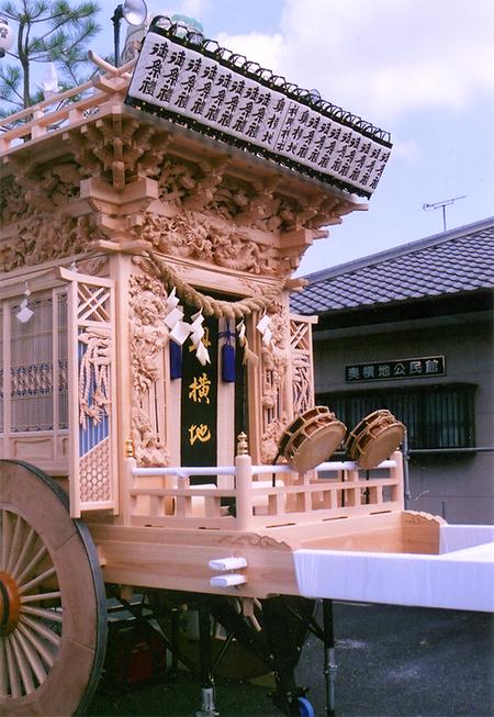 奥横地神明社 森町式