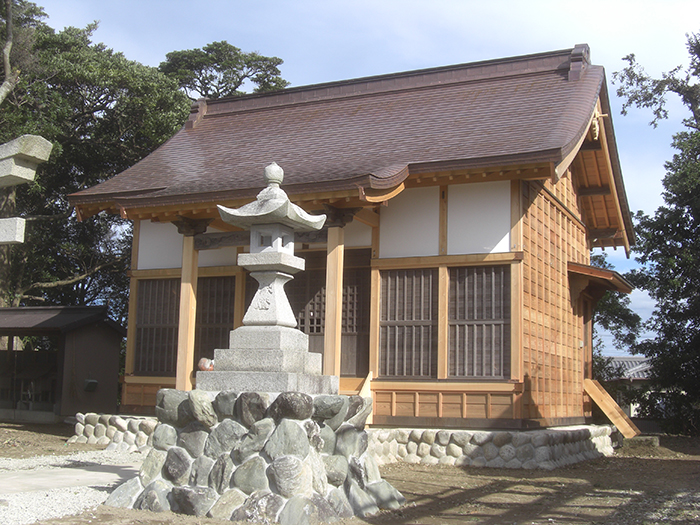 王御前神社(改修後)