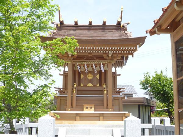 秋葉神社社殿 新築