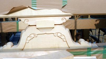 神門蟇股 (厳島神社)