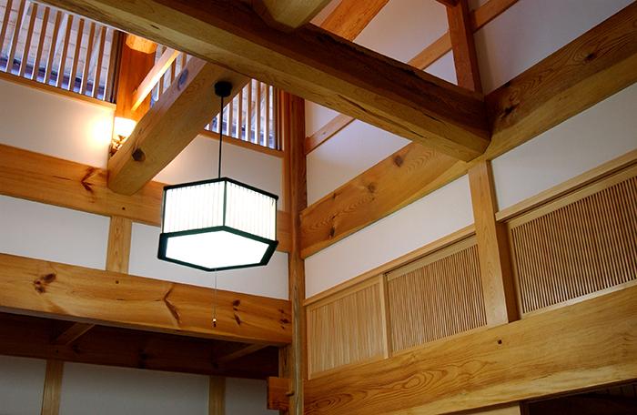 玄関ホール天井
