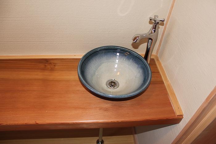 トイレ 手洗いカウンター