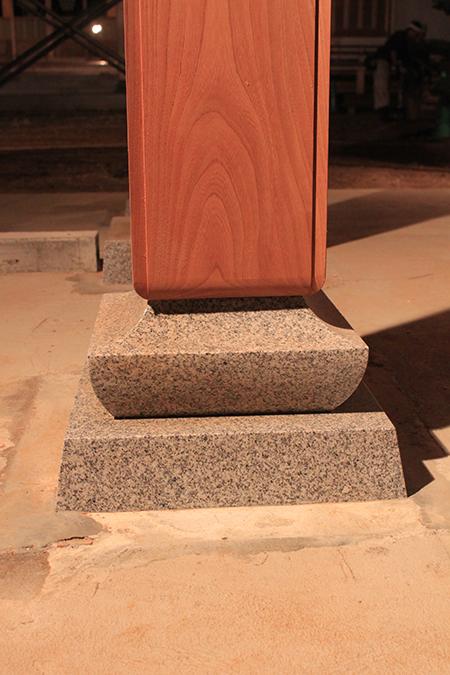 柱の納まり