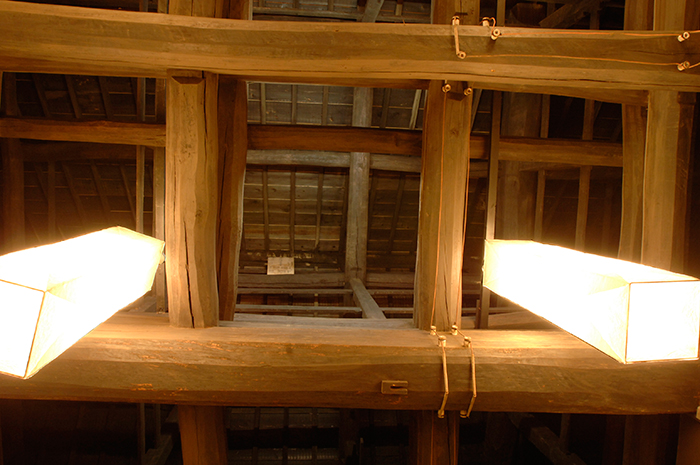 大書院 表し天井