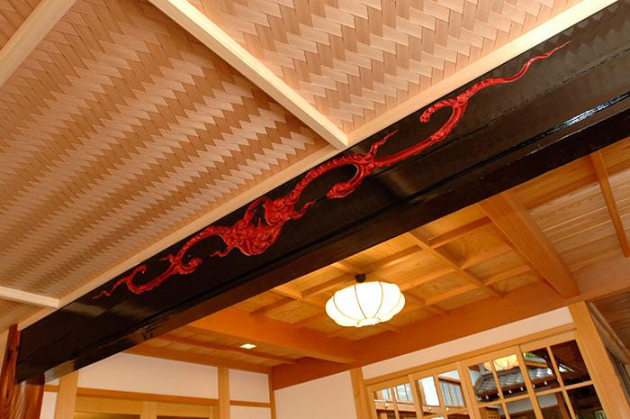 書院 玄関天井
