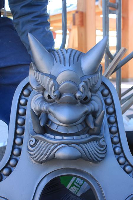 京都の鬼面に学びました。